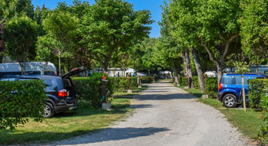 Camping bouches du Rhone emplacement